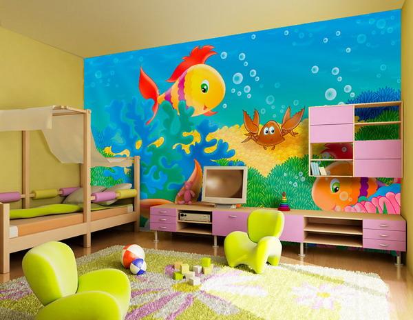 colorful-kids-wall-murals-bedroom