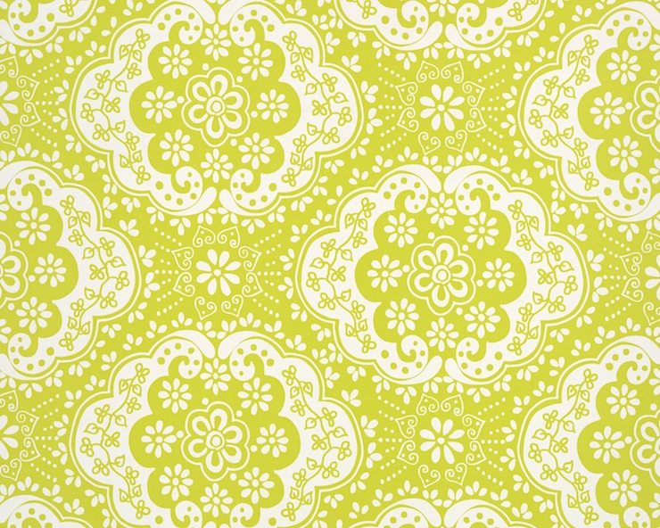 Designer Wallpaper-Room7-Paper Lace Lime copy