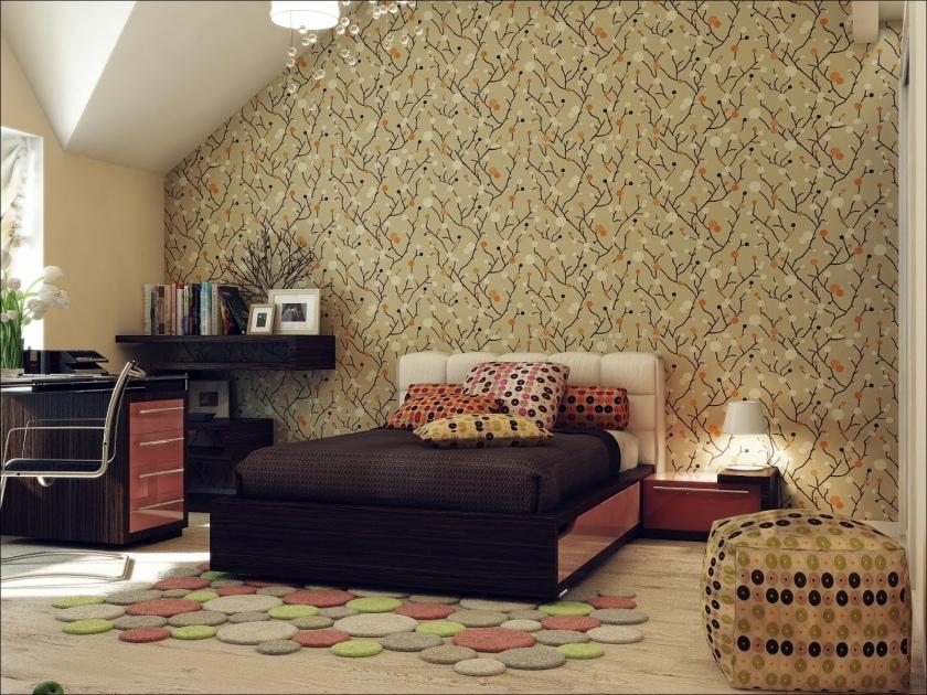 Bedroom-Wallpaper-Decoration